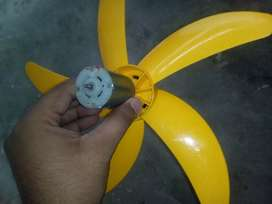 DC 12V  Fan and motor ( number 38o) ,fixed price , limited stock