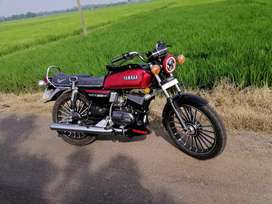 Yamaha rx 100 all parts new and  fc valid 2024,insurance 16/11/2020