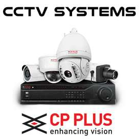 Brand New CP Plus 2/4/8 camera setup with 1 year free amc