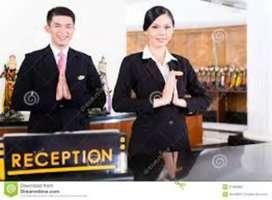 Receptionist urgent hiring [ HR. Kajal ma'am ] in jankipuram Lucknow