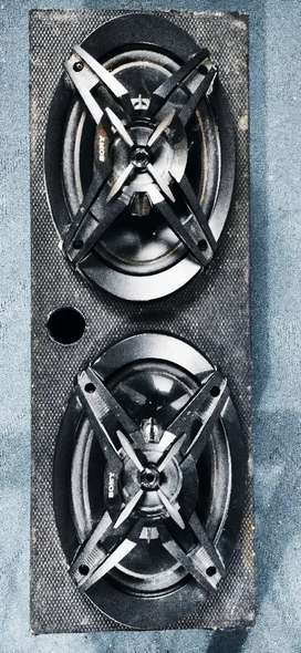 Sony Bass Speakers For Cars