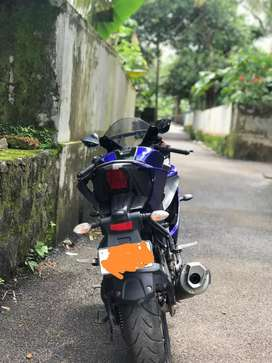 Yamaha R15 v3 (ABS) excellent condition for sale