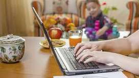 Work get fixed salary every week in home based offline typing wor