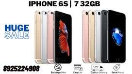 iphone 6s 64gb  128gb - Exchange Option - No cost EMI