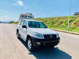 Toyota Prado GX uk embassy clear unregistered