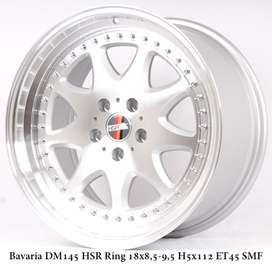 velg replika BAVARIA JD9016 HSR Ring 18 pcd 4X100 warna SMF