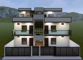 Newly constructed 2bhk and 3bhk flats for sale at jhajra