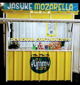 Booth Container usaha thai tea booth boba booth Container custom .