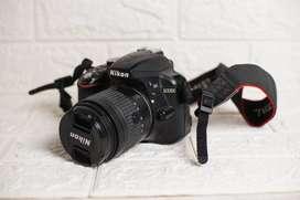 Kamera nikon d3300 - second