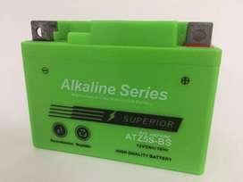Aki alkaline 5 ah accu suzuki shogun 125