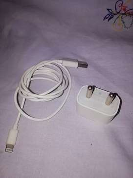 Apple Iphone 5W Charger with Lightning Cable in very good condition.