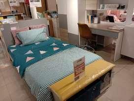 Bed set LADD Free Voucher 500 ribu Promo DP 0