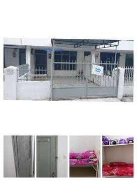 Kamar kos khusus wanita /berkeluarga