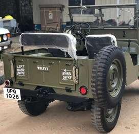 Willy jeep Modified by BOMBAY JEEPS AMBALA CITY OPEN JEEP THAR Zypsy