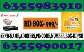 AIRTEL DIGITAL  TV DIWALI OFFER 60% DISCOUNT  OFFER
