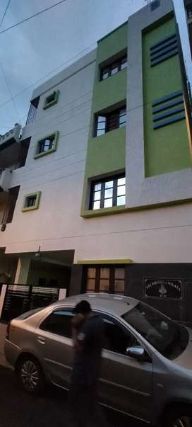 1st flore is of 2bhk with full wood work donwith good quality meterial