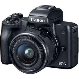 Kredit Canon Eos M50 Dp 10% ckup ktp/Promo Dp 0 utk r.o homecredit