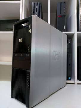 PC Server HP Z600 Dual Porcessor Intel Xeon E5606 Ram 16 GB DDR3 R