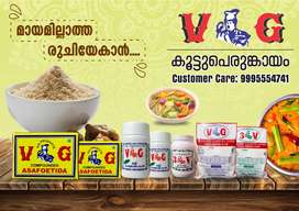 Wanted distributors for food items