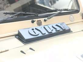 Gypsy bonnet water deflector scoop air vent cover for gypsy king car