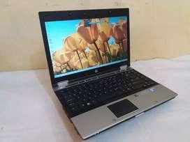 "Laptop Core i5 HP EliteBook 8440P Ram 4 GB HDD 250GB Lcd 14"" Non Minus"