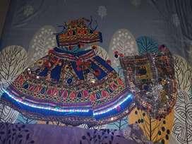 Chaniya choli with LED lights
