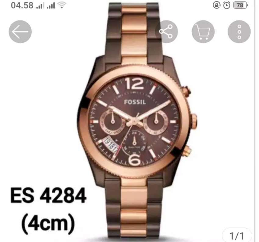 Jam tangan wanita Fossil ES4284 original 0
