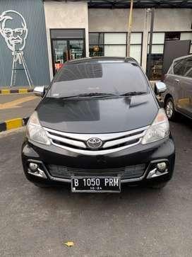 AVANZA 2014 Tipe 1.3G Matic Black Full Service Resmi Toyota