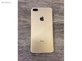 Iphone 7 plus gold 128gb with box pta approved