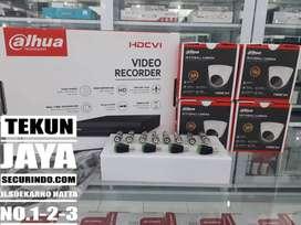 PROMO Terbaruu!!! Paket CCTV 4 Channel Dahua Cooper 2mp
