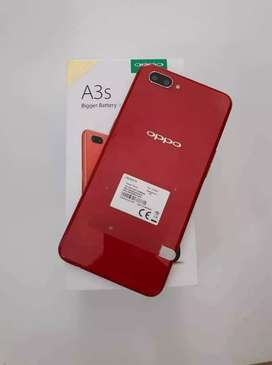 Oppo a3s ram 3/32 red limited
