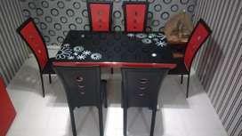 Meja Makan 6 seat
