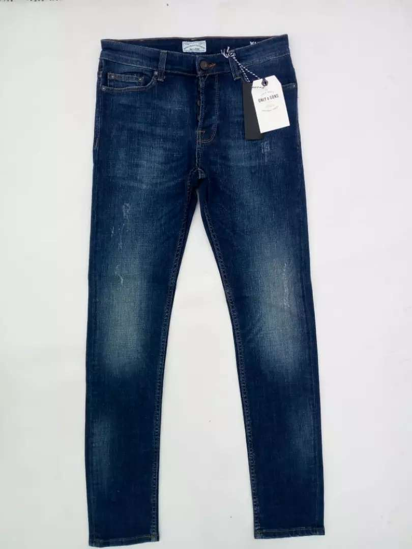 Original Only & Son's Skinny fit Jean's for Men's 0