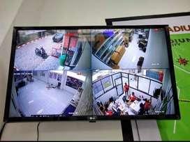 Jasa pemasangan 4 camera murah kuwalitas full HD