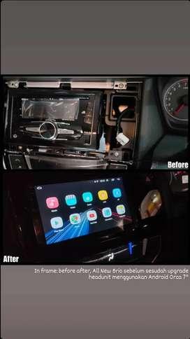 Upgrade Headunit Standar Bawaan Mobil Menggunakan Headunit Android