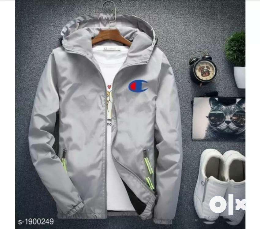 Men polyester jacket 0