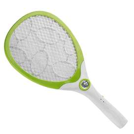 Rechargeable Electric Insect & Mosquito Racket white colur only
