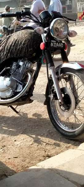 Suzuki  150 with Geniune Disc Brake