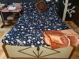 Babool wooden bed( box storage दीवान)