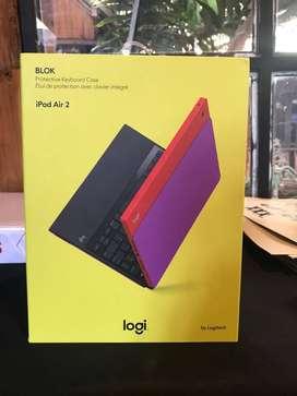 Logitech Bluetooth Keyboard With Block Case