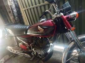 Honda 125 original all parts all documents and lash cundition