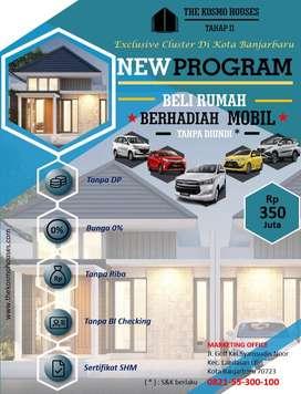 rumah baru mobil baru