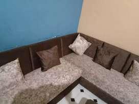 Wooden sofa new