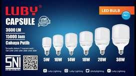 lampu led luby capsule