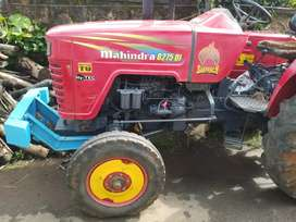 Mahindra 275 di tractar & troli 2008 end  model
