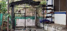 Dog cage 4x6 ft