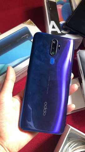 Oppo A9 2020 fullset perfeck like new baru pkai 1 bln