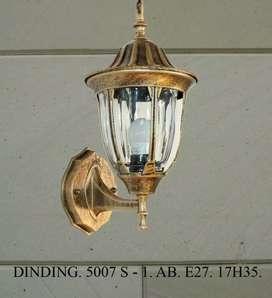 Lampu dinding klasik hias pagar taman pilar murah