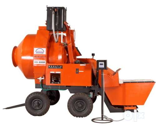 Less used Concrete mixer  E-square RM 800 for sale 0