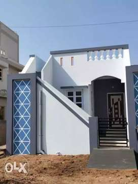 1bhk row house,  with Sweet water Bore